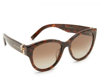 Marc Jacobs Double J Cat Eye Sunglasses $220 thestylecure.com