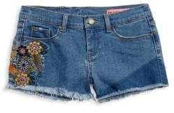 Blank NYC Girl's In Bloom Denim Shorts