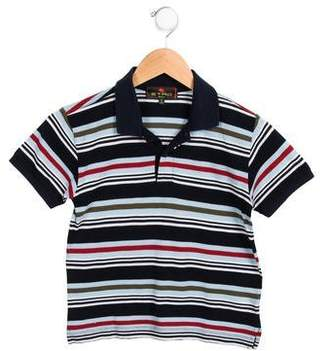 Etro Boys' Short Sleeve Striped Shirt