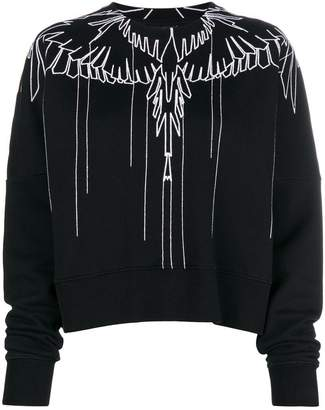 Marcelo Burlon County of Milan graphic sweatshirt