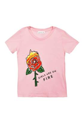 Milly Minis Girls Are On Fire Tee