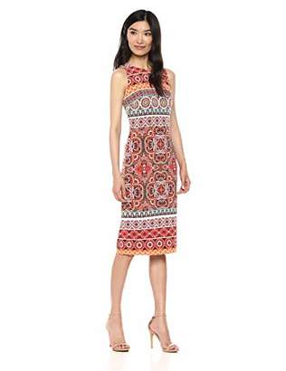 e613ed24 Maggy London Women's Jersey Sleeveless Printed Sheath