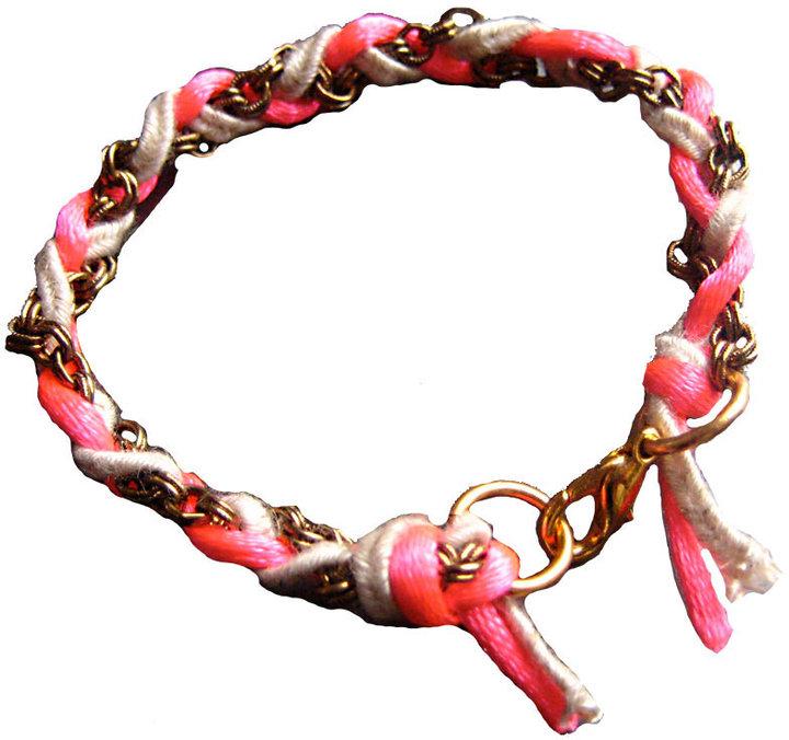 Castaway Jewelry Pink Neon Twist Bracelet