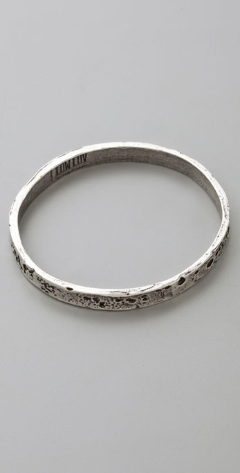Low Luv X Erin Wasson Crater Bangle