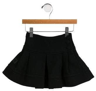 Rykiel Enfant Girls' Pleated Wool Skirt