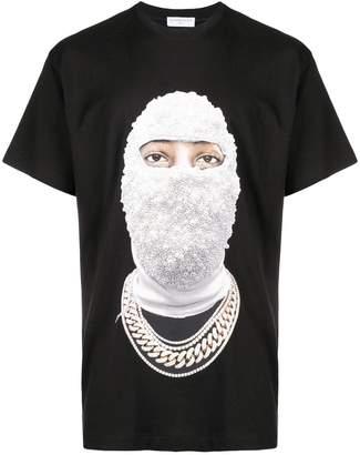 Ih Nom Uh Nit balaclava print T-shirt