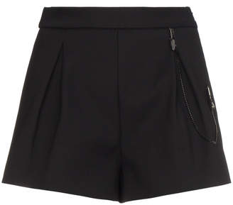Off-White Pleat Front Shorts