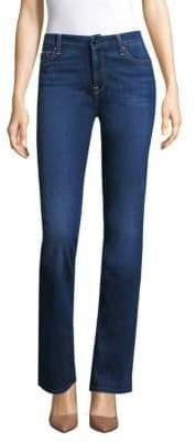 Slim-Fit Boot Cut Jeans
