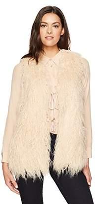 Show Me Your Mumu Women's Luis Faux Fur Vest