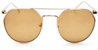 Forever 21 Geometric Aviator Sunglasses