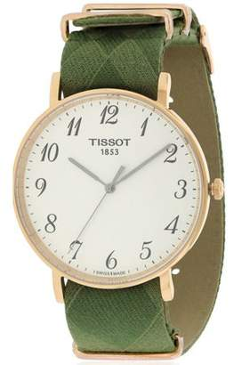 Tissot Everytime Big Gent Fabric Mens Watch T1096103803200