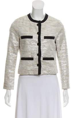 By Malene Birger Metallic-Accneted