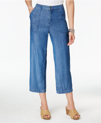 Style & Co Wide-Leg Capri Pants, Only at Macy's $49.50 thestylecure.com