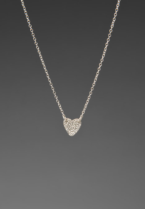 Gorjana Hammered Heart Necklace