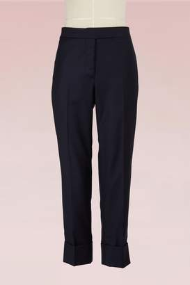 Thom Browne Wool Twill Cropped Pants