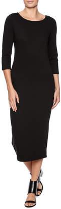 BB Dakota Black Midi Dress
