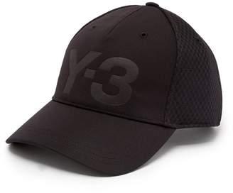Y-3 Logo-debossed mesh cap