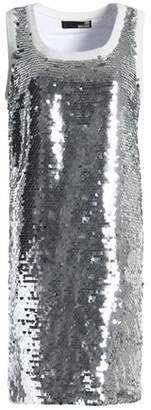 Love Moschino Sequined Cotton-Blend Mini Dress
