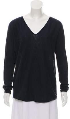 Vince V-Neck Knit Sweater
