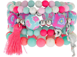 Monsoon 4x Fluro Vibe Clay Bracelets