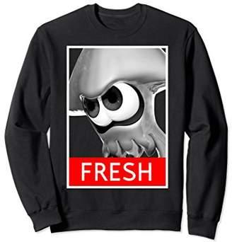 Nintendo Unisex Splatoon Inkling Fresh Streetwear Sweatshirt Large