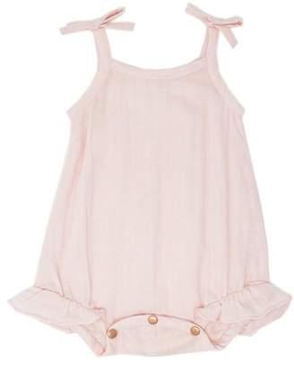 L'ovedbaby Ruffle Bodysuit Blush 0-3 Months