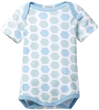 Coccoli Beanstork Organics by Organic Geo Honeycomb Print Bodysuit (Baby)