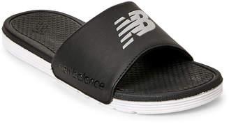 New Balance Black & White Pro Slide Sandals