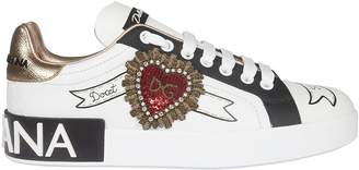 Dolce & Gabbana Logo Detail Laced-up Sneakers