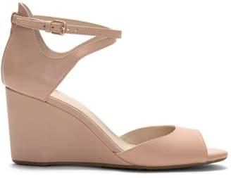 Cole Haan Sadie Leather Wedge Sandals