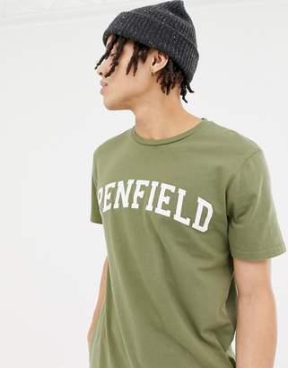 Penfield Collegiate logo t-shirt in green