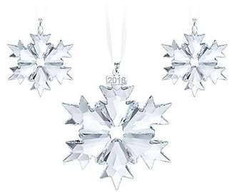 Swarovski Three-Piece 2018 Christmas Ornament Set