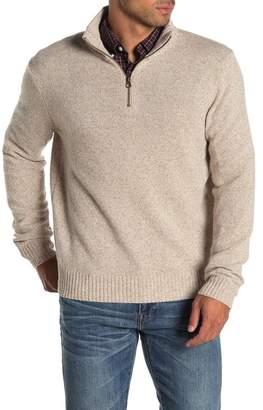 J.Crew J. Crew Wool Blend Half Zip Pullover