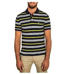Nautica Short Sleeve Multi Stripe Polo