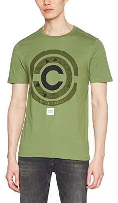 Jcomate Jack de Ss Fit Jones and Tee Crewneck para verde hombre viña Camiseta fq1F4
