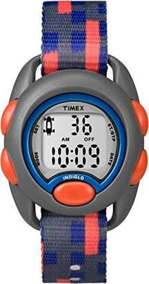Timex Youth Digital Chronograph Grey Strap Kids Watch TW7C12900
