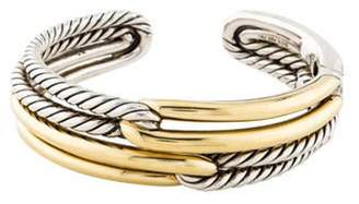 David Yurman Labyrinth Double Loop Bracelet silver Labyrinth Double Loop Bracelet