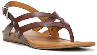 18c5a49dd70 Franco Sarto Smooth Leather Women s Sandals - ShopStyle