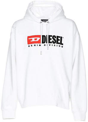 Diesel Division Hooded Cotton Sweatshirt