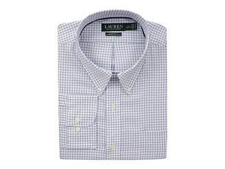 Lauren Ralph Lauren Classic No Iron Button Down with Pocket Dress Shirt