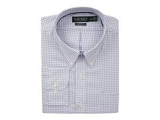 Lauren Ralph Lauren Classic No Iron Button Down with Pocket Dress Shirt
