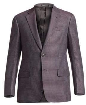 Emporio Armani Micro-Check Sportcoat