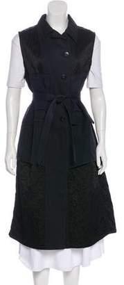 Dries Van Noten Longline Button-Up Vest