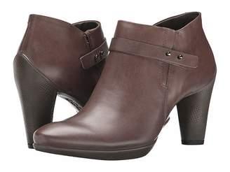 Ecco Sculptured 75 Zip Shootie Women's Boots