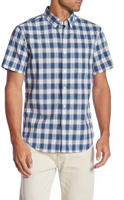 J.Crew J. Crew Regular Fit Stretch Heathered Poplin Sport Shirt