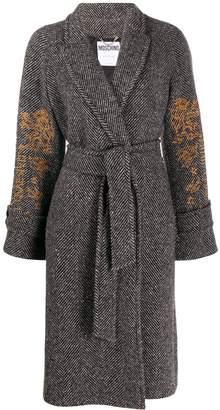 Moschino Mythological Creatures embroidery coat