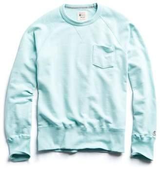 48efddaf Todd Snyder + Champion Terry Pocket Sweatshirt in Surf Green