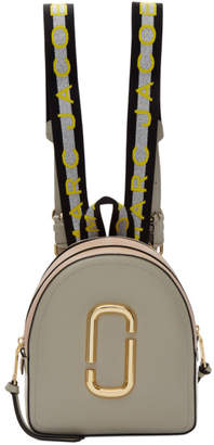 Marc Jacobs Beige and Pink Pack Shot Backpack