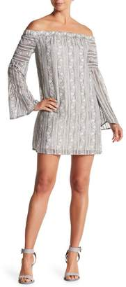 BCBGeneration Off-the-Shoulder Lace Dress