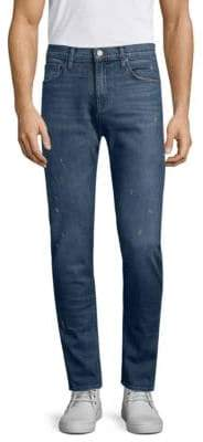 J Brand Taper Tyler Distressed Slim Fit Jeans
